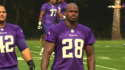 Running back Adrian Peterson will not play for the Minnesota Vikings until his legal issues are resolved, the team said ...