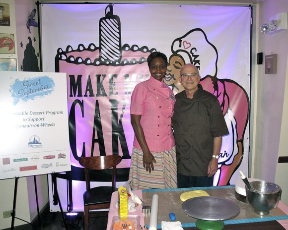 Monday, Sept. 8, former White House Executive Pastry Chef Bill Yosses and Harlem's own Aliyyah Baylor, co-owner of Make My ...