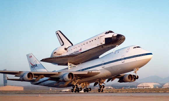 The second of NASA's two modified Boeing 747 Shuttle Carrier Aircraft is open for public display at Joe Davies Heritage ...