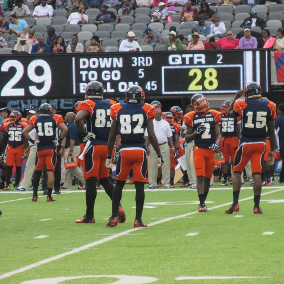 The Black college experience comes to the city as the Howard University (HU) and Morgan State University MSU) football teams ...