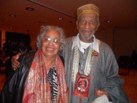 Iyaluua and Herman Ferguson, married 47 years.