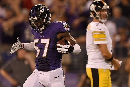 The Baltimore Ravens chose linebacker C.J. Mosley with the seventeenth overall selection in the 2014 NFL Draft.