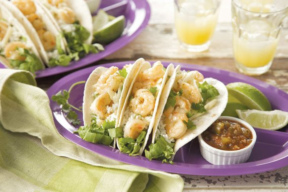 Make dinnertime simple, delicious and fun by using different proteins, such as shrimp, for tried-and-true dishes like tacos, pasta or ...