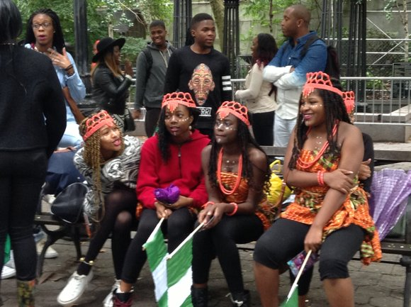 Nigerians from across the area come together to celebration Nigerian Independence Day.
