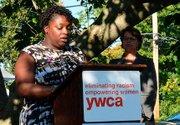Survivor and former YWCA client Ieisha Haynes provides a poignant description of her life as a victim of domestic violence.