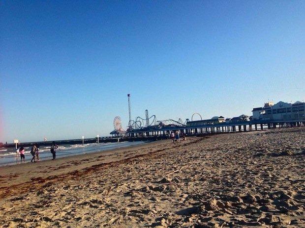 Galveston's newest major attraction, Pleasure Pier