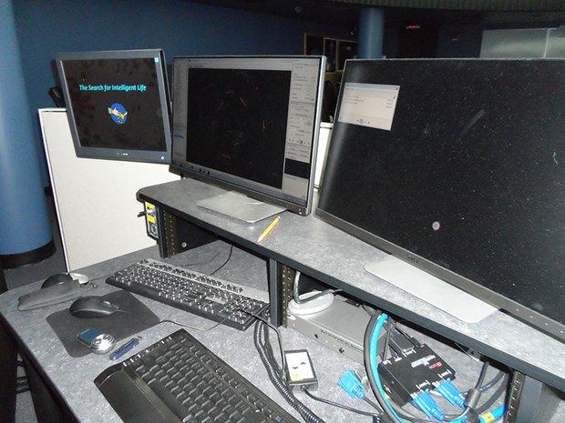 Joliet Junior College's new Omnistar Digital Planetarium Projector.