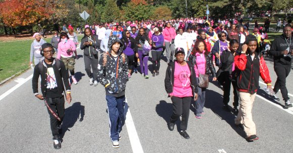 This past weekend, the American Cancer Society held its Making Strides Against Breast Cancer walk all over the nation.