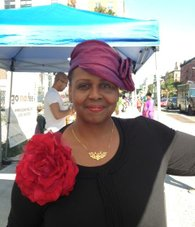 Evetta Petty, designer and owner of Harlem's Heaven Hat Boutique.