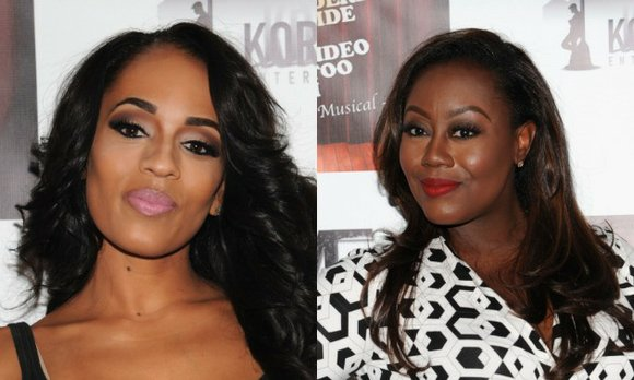 "Video vixen Melyssa Ford was involved in a fight with ""Blood Sweat Heels"" co-star, Geneva Thomas, last night (October 21)."
