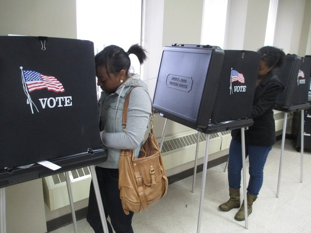More than 2,115 people had taken advantage of the early voting at the Will County Building in Joliet as of Wednesday afternoon.