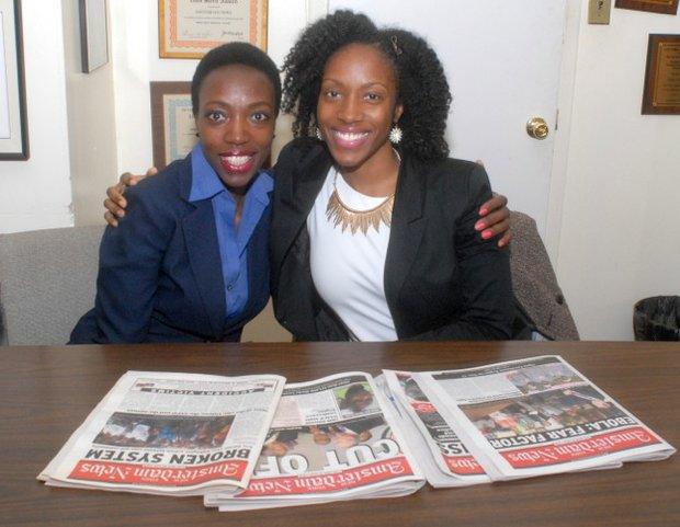 Rosalyn McIntosh and Nyasha Adams Rivera
