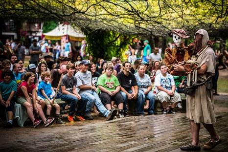 The Texas Renaissance Festival will welcome approximately 50,000 students, grades K-12, from more than 75 school districts in Houston, Tomball, ...