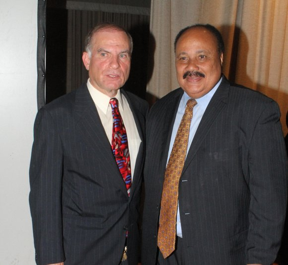 Martin Luther King III, Dr. Martin Luther King's oldest son, went to Benjamin Cardozo High School in Bayside, Queens, to ...