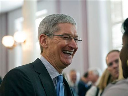 He's not hearing much of that anymore. Even Cook's biggest detractors have to admit that Apple's recent performance is astounding: ...