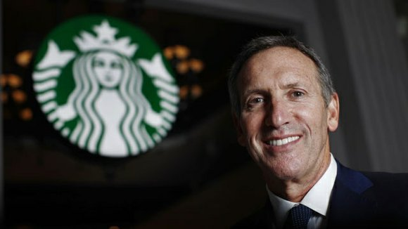 Howard Schultz, the CEO of Starbucks, endorsed Hillary Clinton for president on Wednesday.