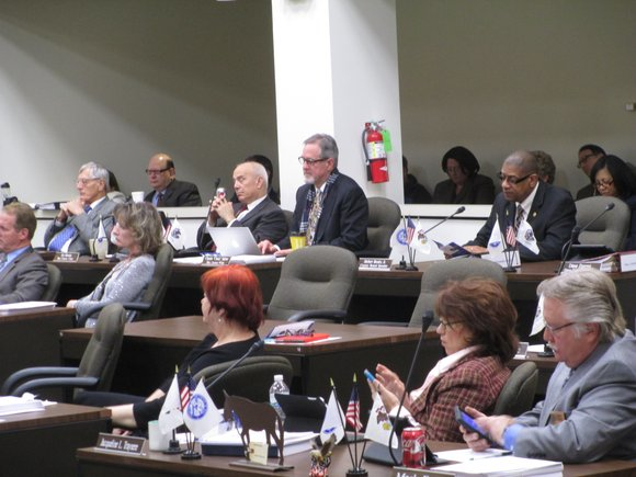 The deciding vote to keep the capital improvements portion of the 2014-15 at $2.4 million was cast by Will County ...