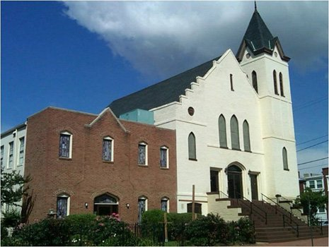 Sharon Baptist Church in Jackson Ward is still on the market, according to a major Richmond real estate company's website.