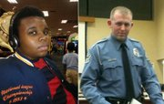 Michael Brown and Officer Darren Wilson