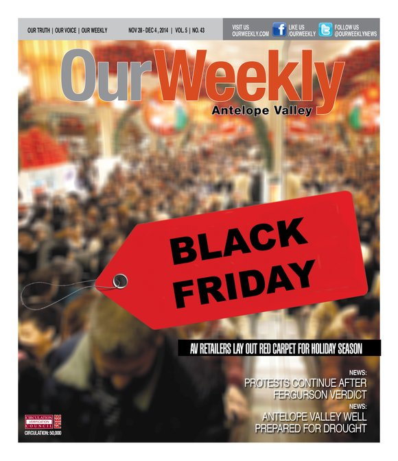 """Today may be the last """"Black Friday."""" Department stores have decided not to wait for the last balloon float down ..."""