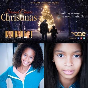 """Gabrielle Goodman will appear in her first film project """"Second Chance Christmas,"""" which airs on Saturday, December 6, 2014 at 8 p.m. on TV One."""