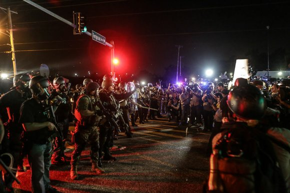 No Indictment! And things in Ferguson went from grand jury to grand fury.