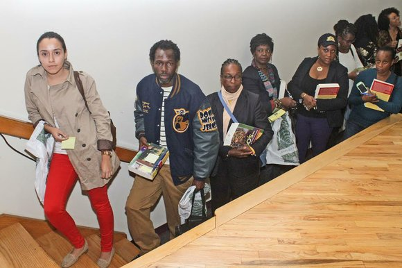 The Center for Black Literature at Medgar Evers College recently presented a book discussion and reading.