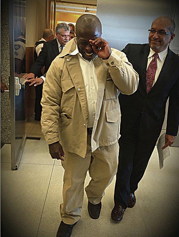 David McCallum is a free man, courtesy of Brooklyn District Attorney Ken Thompson.