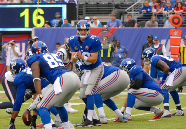 Eli Manning may well be going through the worst season in his Giants career.
