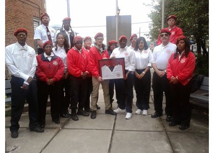 On October 11th, 2014, The Heritage Society of Essex and Middle River presented the Guardian Angels with an award for ...