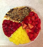Cheesecakes by James will sell single-topping cakes or versions with up to four toppings.