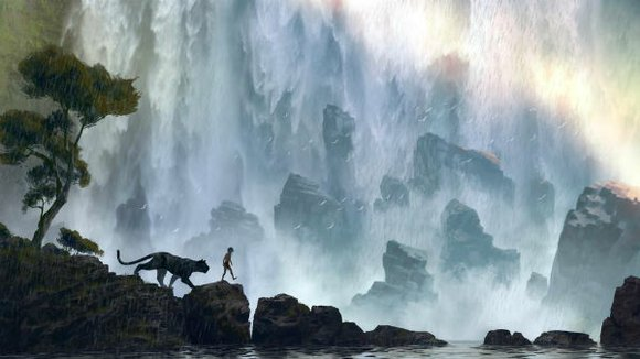 Earlier today, we showcased the first ever poster for Jon Favreau's upcoming The Jungle Book, which gave us a close-up ...