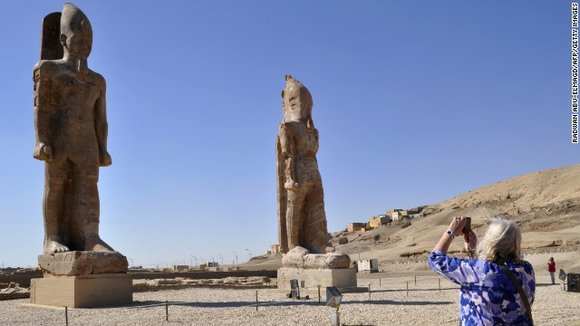 The same team, including noted German archaeologist Hourig Sourouzian, unveiled two other massive statues of Pharaoh Amenhotep III in March. ...