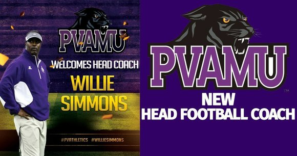 Renowned offensive coordinator Willie Simmons has been selected as the 32nd head football coach in Prairie View A&M history on ...