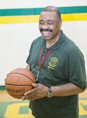 "Huguenot High School Falcons coach Leroy ""Bo"" Jones."