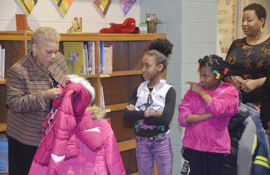 As winter descends upon us, many Richmond children face cold days without a coat to protect them from the elements.