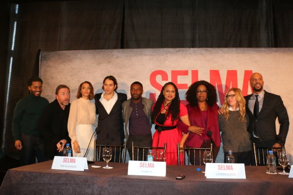 "This weekend, we were among a group of media invited to screen Paramount Pictures' new film, ""Selma"" (opening Christmas Day), ..."