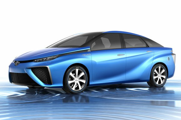 Hydrogen fuel cell vehicles, this one included, have a lot going for them. You fill up with compressed hydrogen gas ...