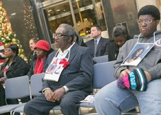 Those who lost someone to violence had a chance to publicly remember their loved ones last week at City Hall.