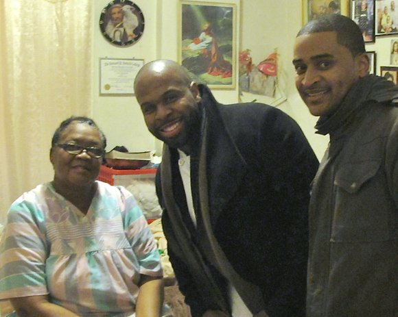 Last week, Chef J.J. Johnson of the Cecil and Minton's in Harlem brightened the day of 30 homebound elderly New ...