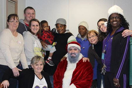 The Eastside Emergency Family Shelter, home to more than 150 homeless mothers and children was treated to a special day ...