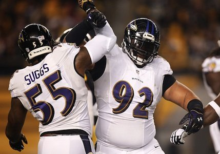 The playoff berth that the Baltimore Ravens clinched allowed Haloti Ngata to come back from his four game suspension.