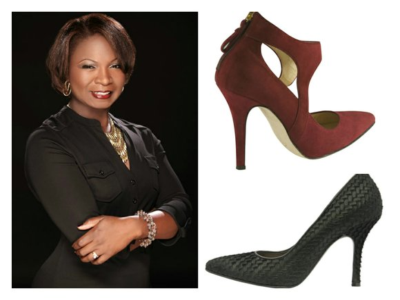 Shoe designer Tori Soudan is a woman who knows shoes.