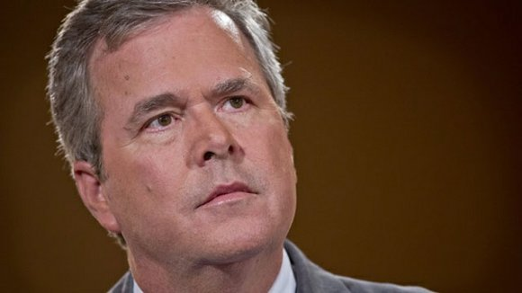 Former Florida Gov. Jeb Bush said Sunday he didn't rebut Florida Sen. Marco Rubio in Wednesday's debate because he was ...