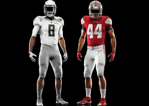 Nike unveiled the uniforms that Oregon and Ohio State will wear for the College Football Playoff National Championship