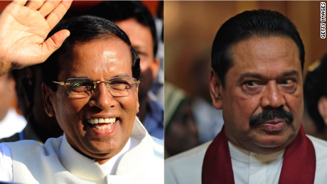 That man is Maithripala Sirisena, 63, and he was general-secretary of Rajapaksa's Sri Lanka Freedom Party, and health minister in ...