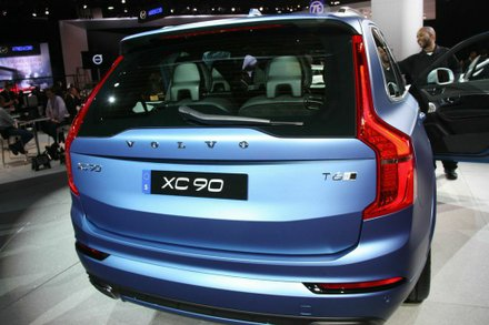 Volvo Cars' all-new XC90 will offer an unrivaled combination of power and clean operation when it is launched later this year. Photo by Francis Page Jr