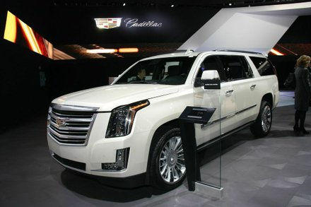 """""""Escalade has always had a bold character, differentiating itself from other luxury SUVs. Now, Escalade adds more sophistication, with advanced technology and hand-tailored craftsmanship. Photo by Francis Page Jr"""