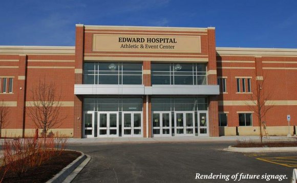Edward Hospital will pay $500,000 to have its name on the Romeoville Athletic and Events Center for the next five ...