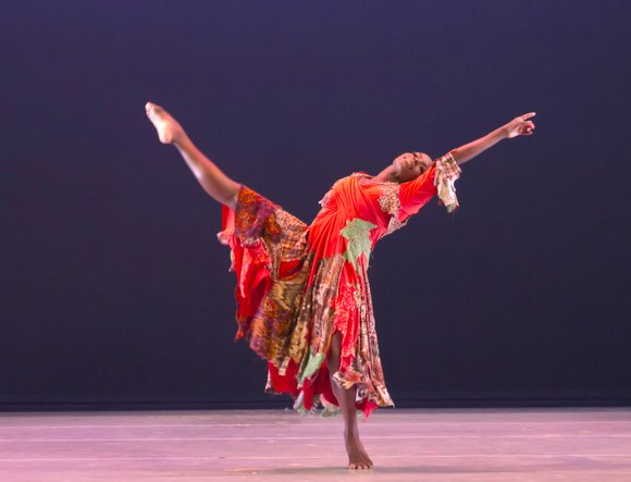 The Alvin Ailey American Dance Theater took over the New York City Center stage for their annual month-long season.